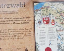 Piesza, leśna pielgrzymka do miejsca kultu religijnego na nogach do Gietrzwałdu