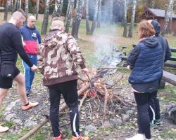 Listopadowy leśny wyjazd rowerowy do Zalesia