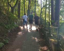 Wakacyjne wspomnienia- biwak nad jeziorem wizyta na polach Grunwaldzkich