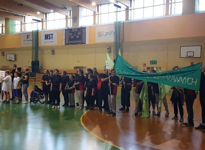 Ilustracja do aktualności VI Paraolimpiada Osób Niepełnosprawnych- wolontariat