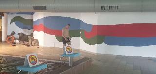 Ilustracja do aktualności Wyjazd na basen i spotkanie z końmi
