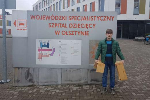 Ilustracja do aktualności Wolontariat- wspieramy Wojewódzki Specjalistyczny Szpital Dziecięcy w Olsztynie