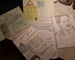 Udział NASZYCH WYCHOWANKÓW  w konkursie: KARTKA URODZINOWA DLA FELIKSA NOWOWIEJSKIEGO